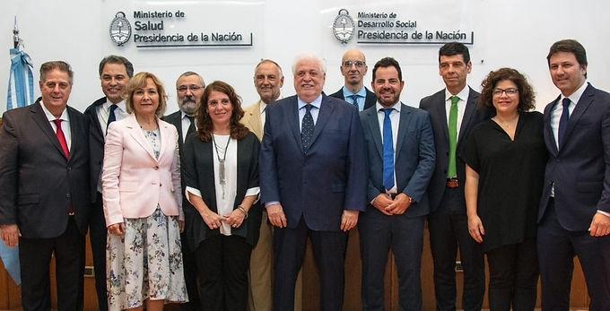 Asumió el Gabinete de Salud que acompañará a Ginés González García