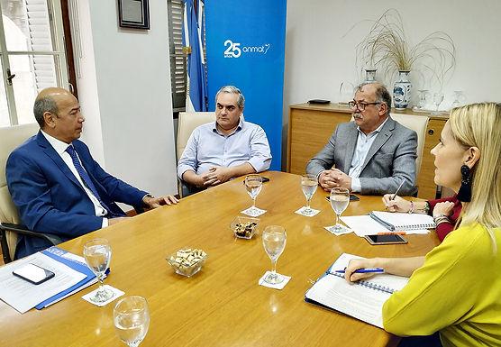 ANMAT se reunió con SCPBA para coordinar el trabajo conjunto en materia de implantes