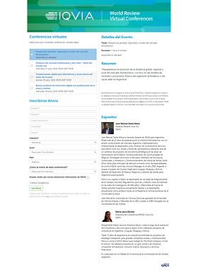 Inscripción | IQVIA World Review 2020