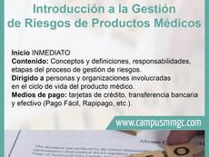 Nuevo Curso MMGC| Introducción a la Gestión de Riesgo de Productos Médicos