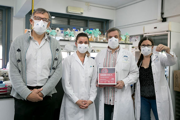 Un nuevo kit de diagnóstico desarrollado por investigadores argentinos para detectar el COVID-19