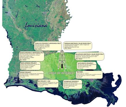 Louisiana Oil Prospects