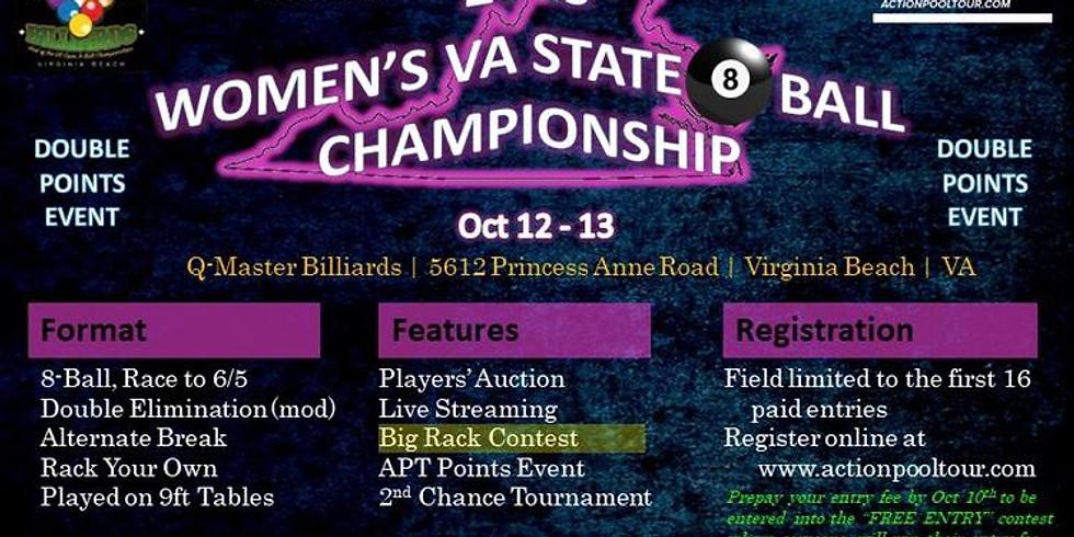 2019 VA State Women's 8 Ball Championship (APT)