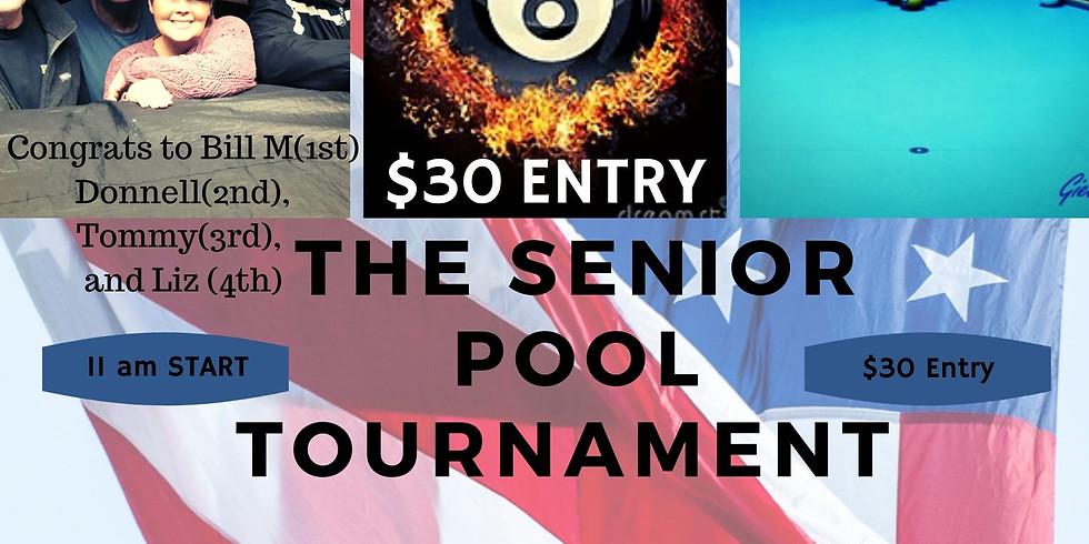 Senior Pool Tournament Feb 22