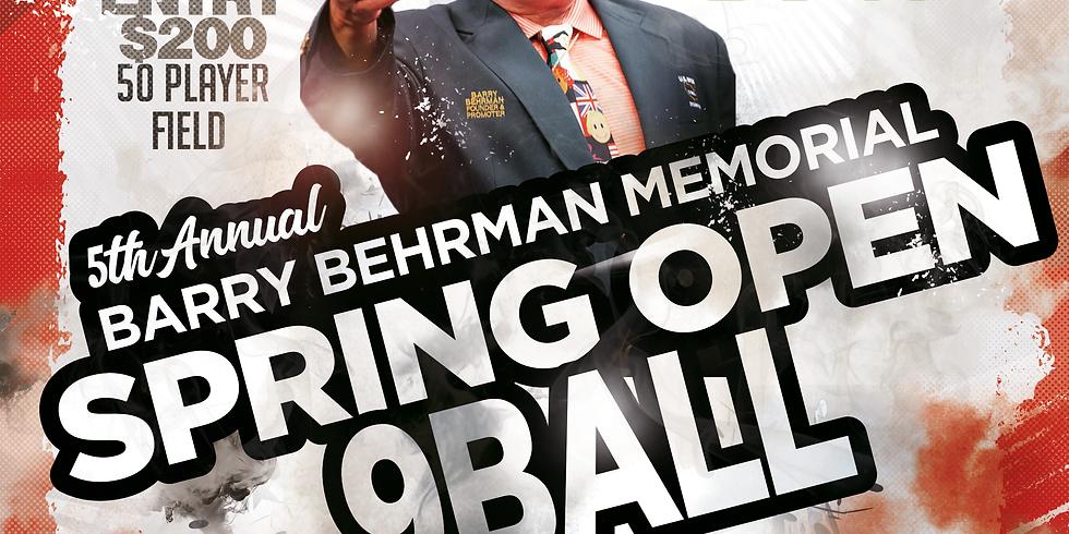 5th Annual BB Memorial Spring Open 9 Ball