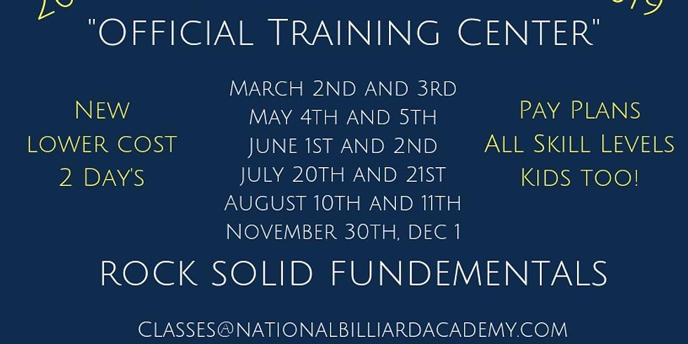 National Billiard Academy Training! Registration is now Open