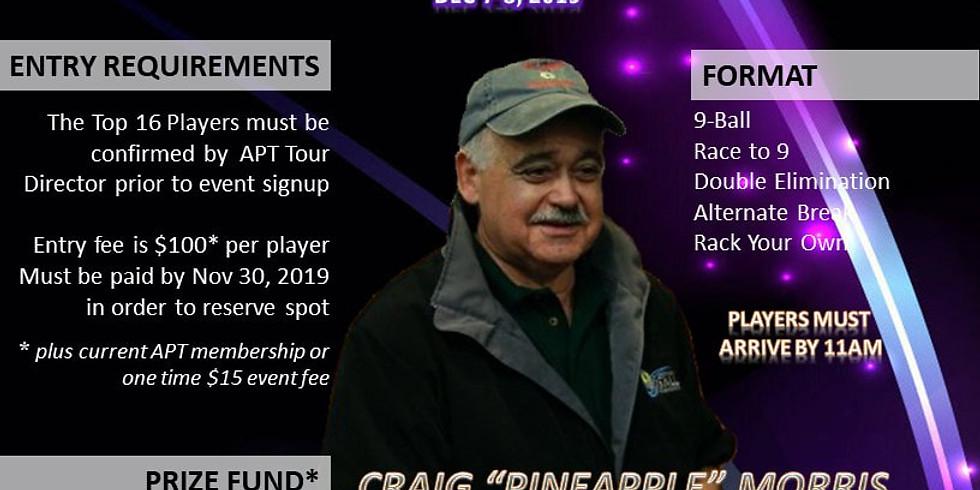 Action Pool Tour Presents the Pineapple Morris Memorial Shootout