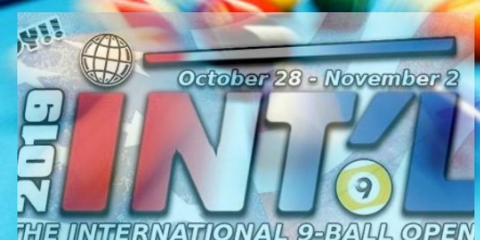 Local Qualifier for INTL 9 Ball Open