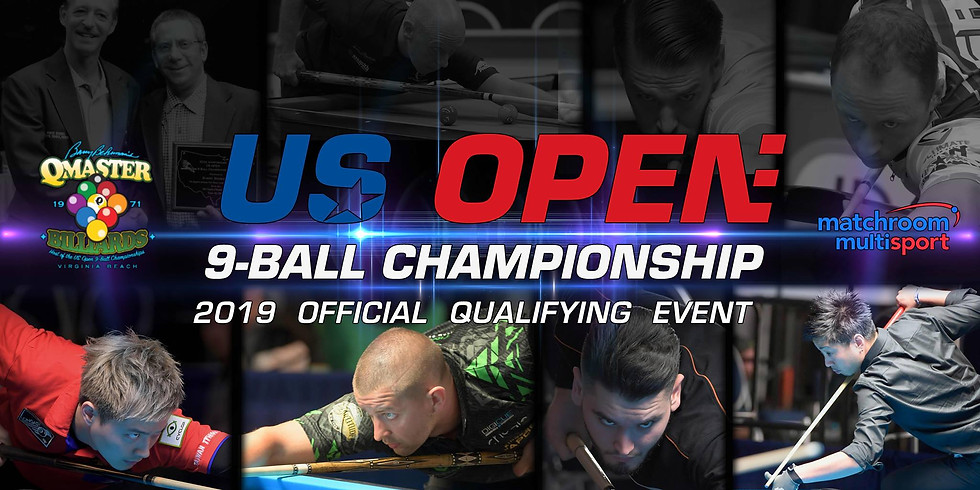 Official Qualifier for the 2019 US Open 9-Ball Championship