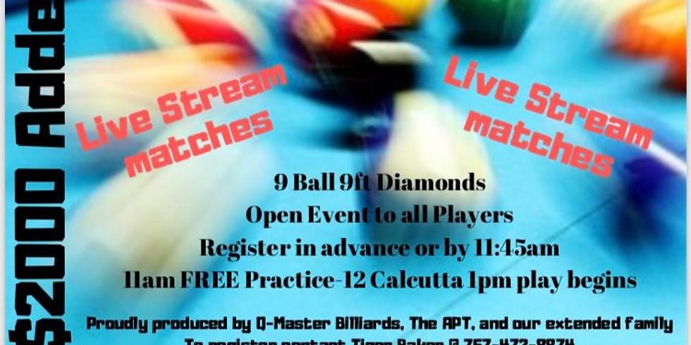 Barry Behrman Memorial Spring open 9 Ball