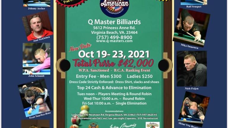 American 14.1 Straght Pool Championships