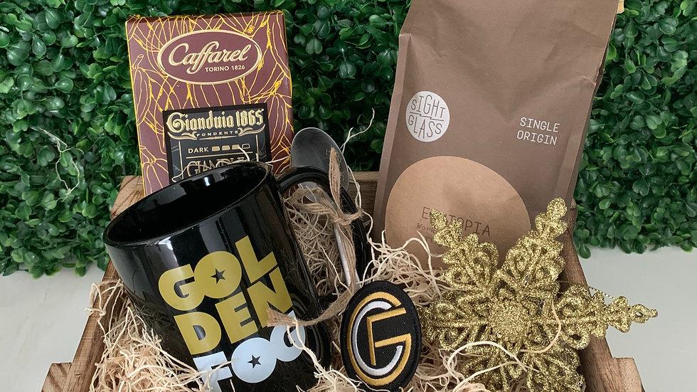Golden Fog Holiday Coffee Set