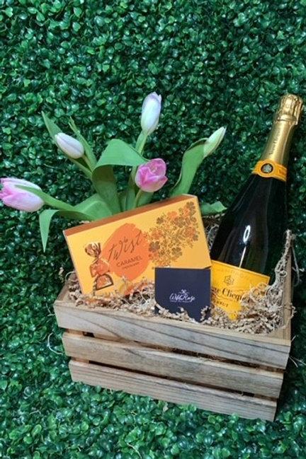 Champagne & Tulips