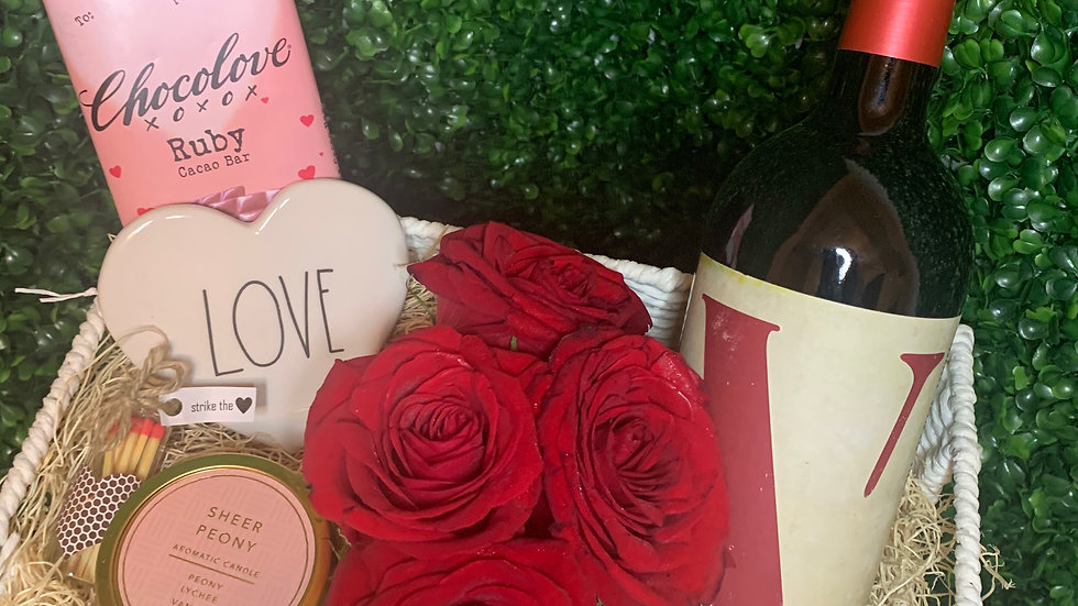 Valentine's Day Collection | Roses & Wine