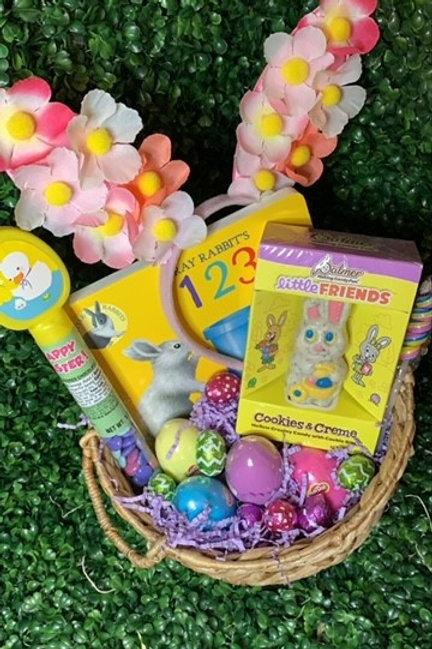 Easter Bunny   Flower Girl Easter Basket