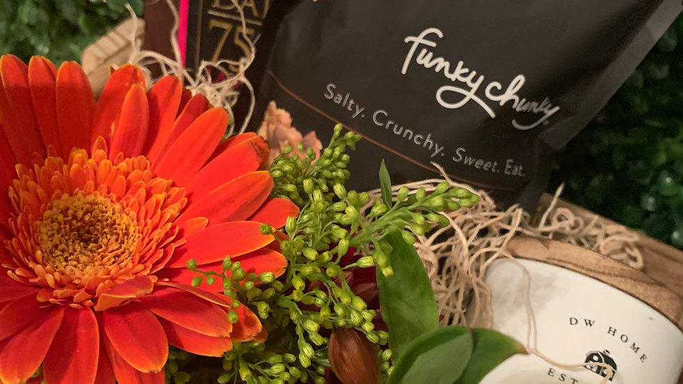 Fall Collection | Candle, Chocolate, Flowers