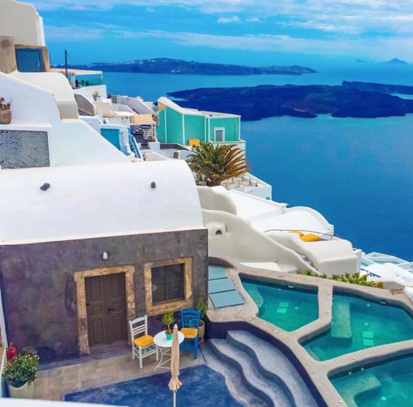 A Beautiful Oasis: Santorini, Greece