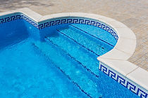 Pool tile and coping