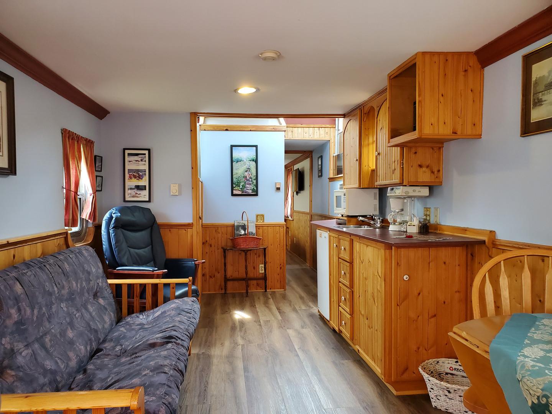 Caboose #10 kitchen/living room
