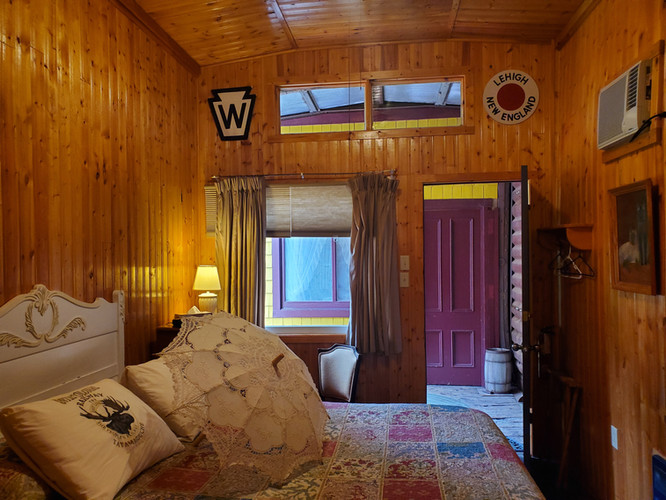 Boxcar Jimmie bedroom