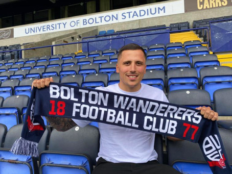 Antoni Sarcevic reveals why he signed for Bolton Wanderers