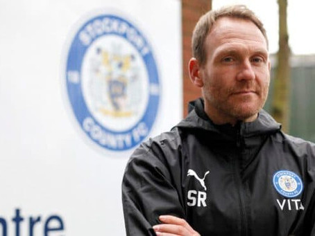 Is Simon Rusk the man to lead Stockport County to the EFL?