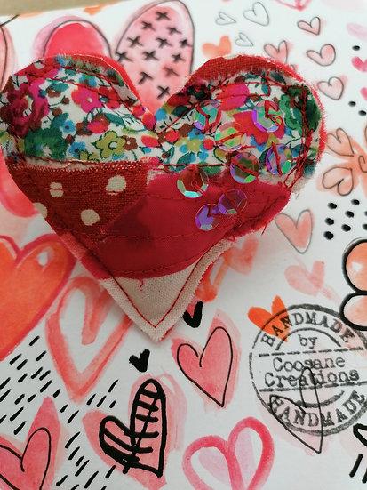 Heart Brooch 04