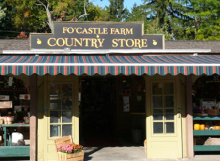 A step back in time...                     Fo'Castle Farm Country Store