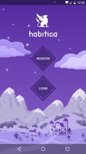 Screenshot of the Habitica App