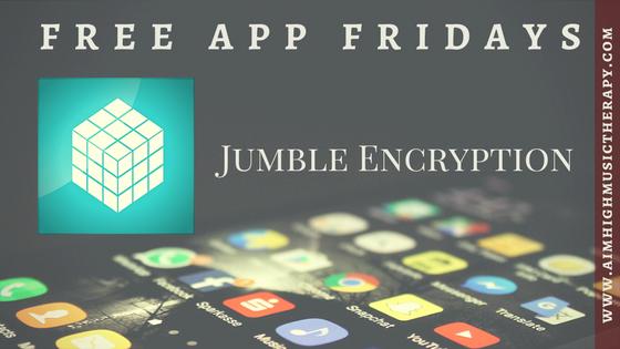 Free App Fridays: Jumble
