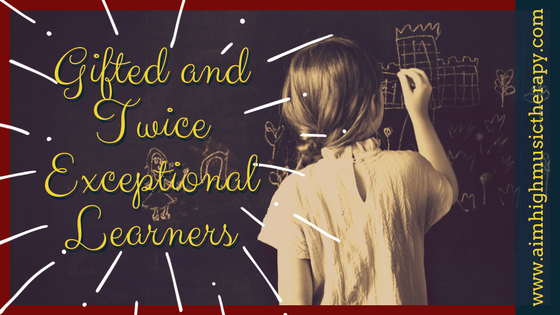 Gifted and Twice Exceptional Learners