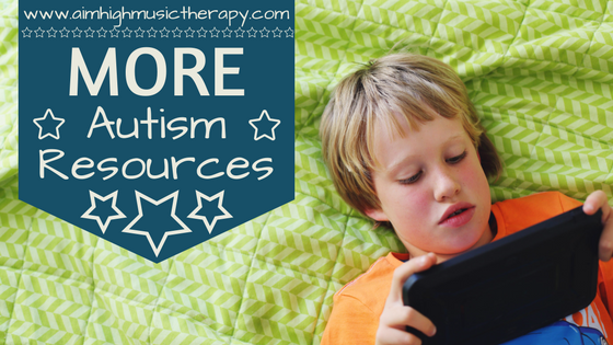 More Autism Resources