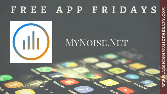 Free App Fridays: mynoise.net