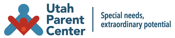 Logo for the Utah Parent Center