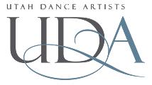 Logo for Utah Dance Artists