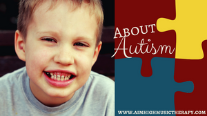 Photo of a boy smiling: About Autism