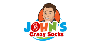 Logo for John's Crazy Socks