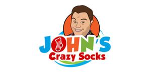 Logo for John's Crazy Socks