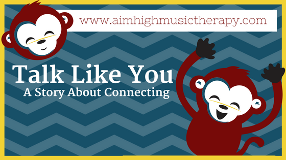 Post title alongside some red monkeys: Talk Like You