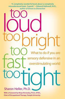 Book Cover for 'too loud too bright too fast too tight'