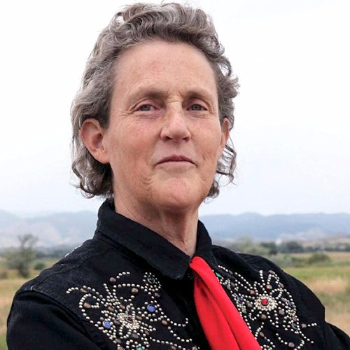 Temple Grandin, a famous woman who has autism