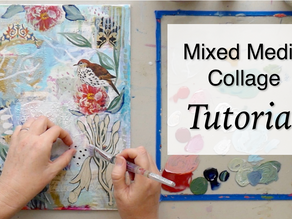 Mixed Media Collage Tutorial