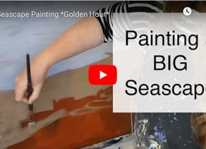New Painting! Sonoma Coast: Golden Light