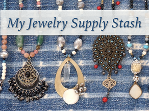 Peek Inside my Jewelry Supply Stash