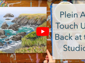 Plein Air Touch Ups: Part 2