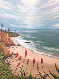 """Laguna Beach, 16 x 20"""""""