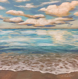 "Morning Seascape 8 x 8"""