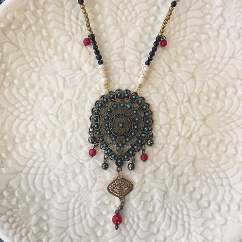 Peacock Soul Necklace