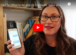 8 Tips for What to Do with Old Artwork