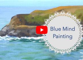 Blue Mind Painting
